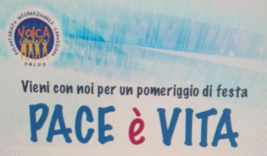 Pace è vita, pomeriggio di festa con il VOICA