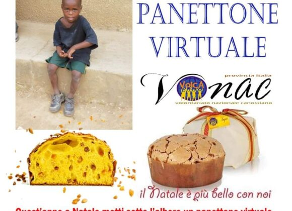 """Vonac Italia, ecco i """"panettoni solidali virtuali"""""""