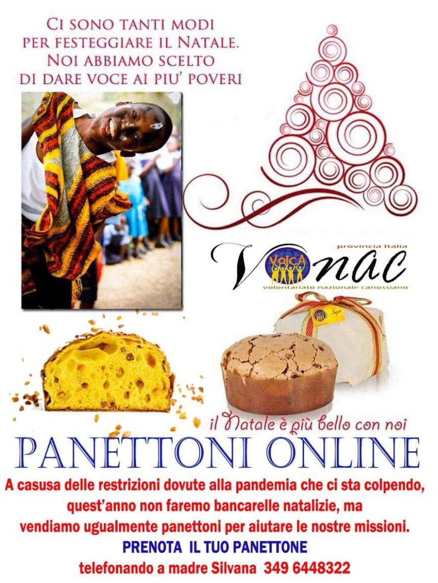 I panettoni online del Vonac Italia